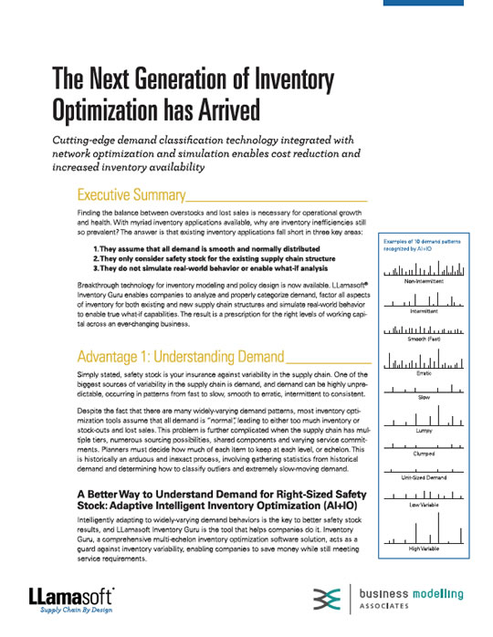The Next Generation of Inventory Optimisation has Arrived White Paper